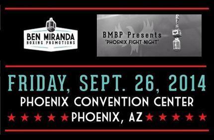 Phoenix Fight Night - Ben Miranda Boxing Promotions