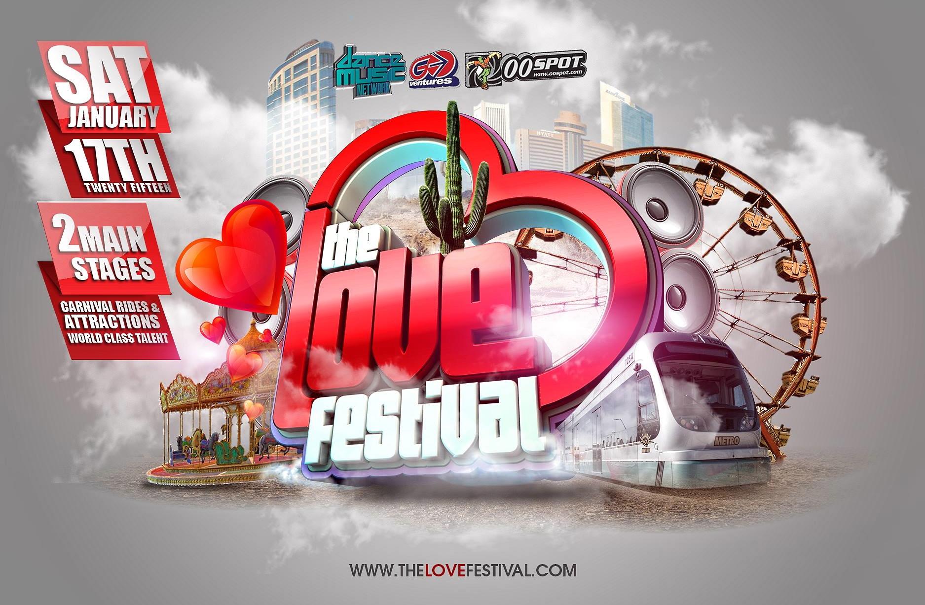 The Love Festival Featuring DJ Dan