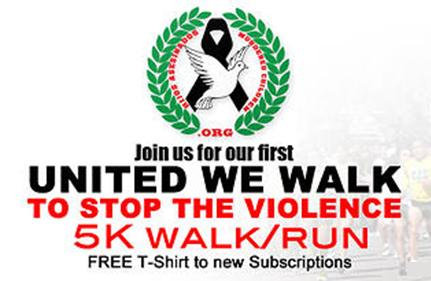 United We Walk To Stop The Violence