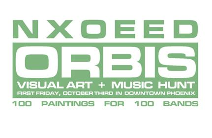 NXOEED / ORBIS Visual Art and Music Hunt
