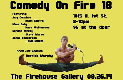 Comedy On Fire 18