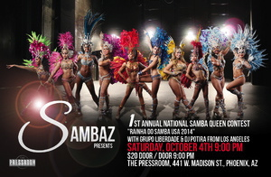 1st Annual National Samba Queen Contest