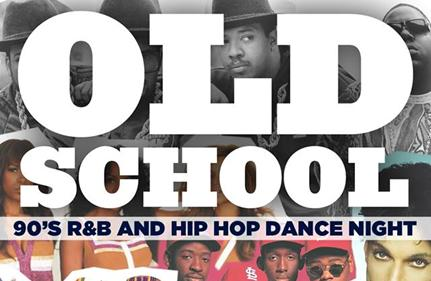 Old School 90s R&B and Hip Hop Dance Party.