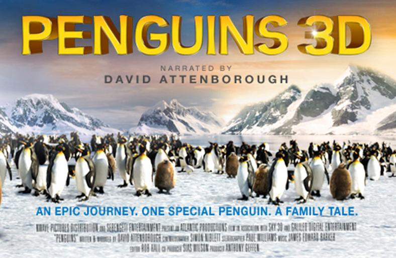 Penguins 3D - IMAX Theatre