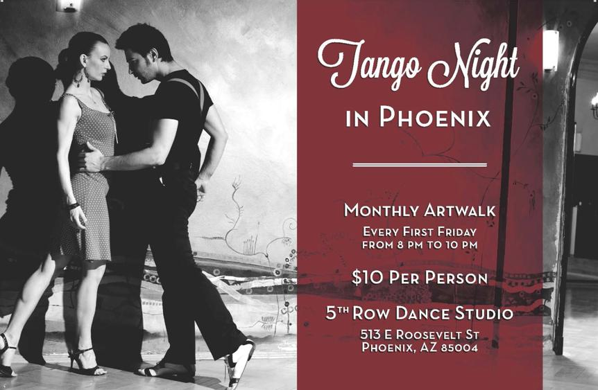 Tango Night in Phoenix