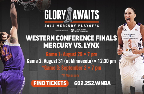 Phoenix Mercury vs Minnesota Lynx - Conference Finals