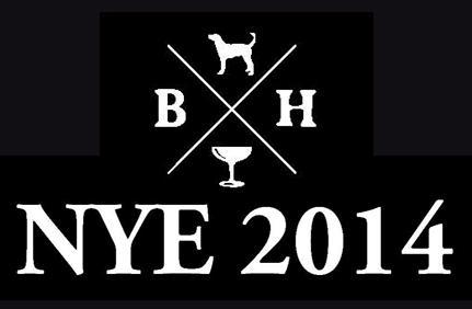 NYE 2014 at Blue Hound