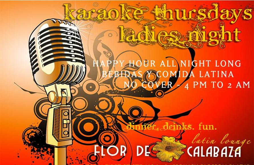 Karaoke Thursdays Ladies Night