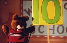 Baby Bear Goes to School