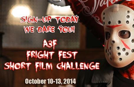 A3F Fright Fest 72 Hour Short Film Challenge 2014 Screening