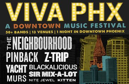 VIVA PHX: A Downtown Phoenix Music Festival