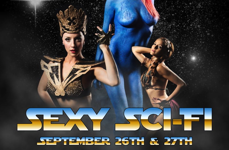 Scandalesque Presents... Sexy Sci-Fi!