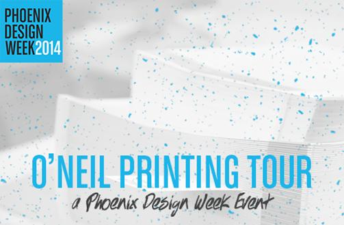 Phoenix Design Week:  O'Neil Printing Shop Tour