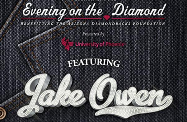 Evening On The Diamond Featuring Jake Owen