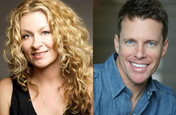 Chelsea Lately's Sarah Colonna and Chris Franjola