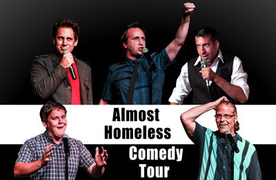 Almost Homeless Comedy Tour