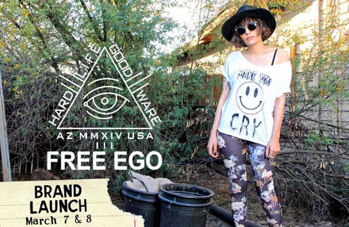 Free Ego Clothing Brand Launch