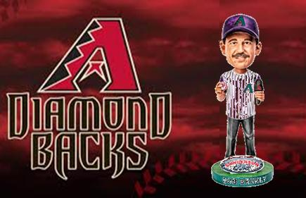 Arizona Diamondbacks Bob Brenley Bobblehead Giveaway