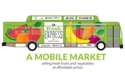 Fresh Express Bus - A Mobile Market